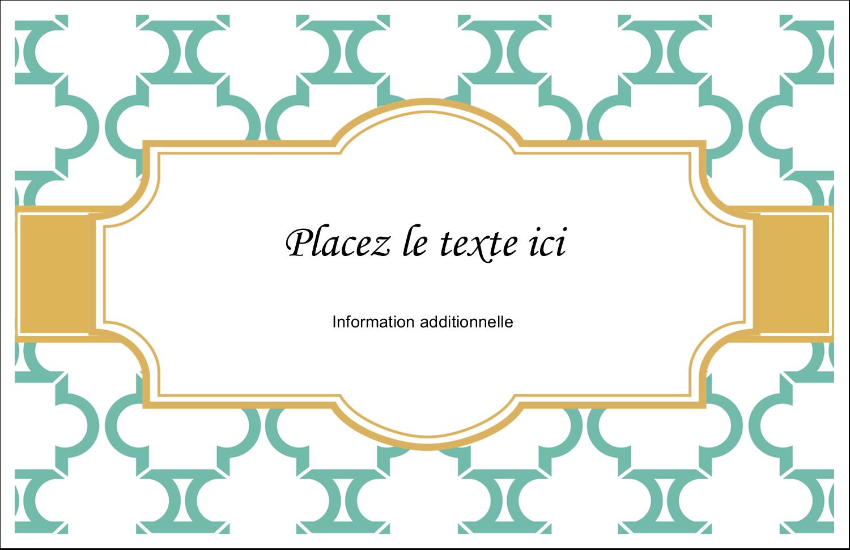 """8½"""" x 11"""" Cartes Et Articles D'Artisanat Imprimables - Tuile marocaine sarcelle"""