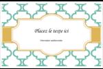 Tuile marocaine sarcelle Cartes Et Articles D'Artisanat Imprimables - gabarit prédéfini. <br/>Utilisez notre logiciel Avery Design & Print Online pour personnaliser facilement la conception.