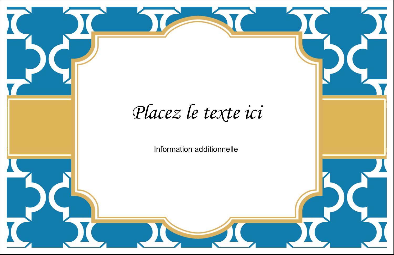 """8½"""" x 11"""" Cartes Et Articles D'Artisanat Imprimables - Tuile marocaine bleue"""