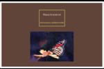 Papillon perché Cartes Et Articles D'Artisanat Imprimables - gabarit prédéfini. <br/>Utilisez notre logiciel Avery Design & Print Online pour personnaliser facilement la conception.
