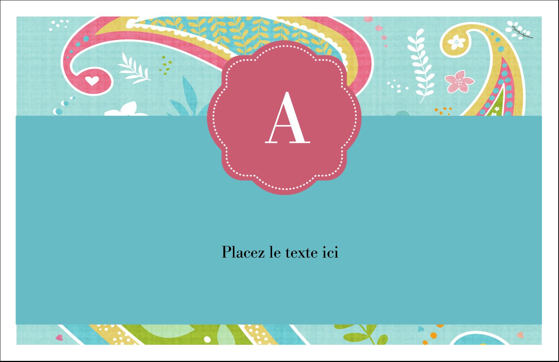 """8½"""" x 11"""" Cartes Et Articles D'Artisanat Imprimables - Cachemire"""