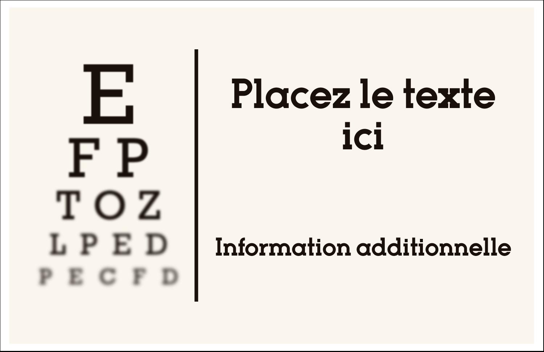 """8½"""" x 11"""" Cartes Et Articles D'Artisanat Imprimables - Tableau oculaire"""