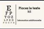 Tableau oculaire Cartes Et Articles D'Artisanat Imprimables - gabarit prédéfini. <br/>Utilisez notre logiciel Avery Design & Print Online pour personnaliser facilement la conception.