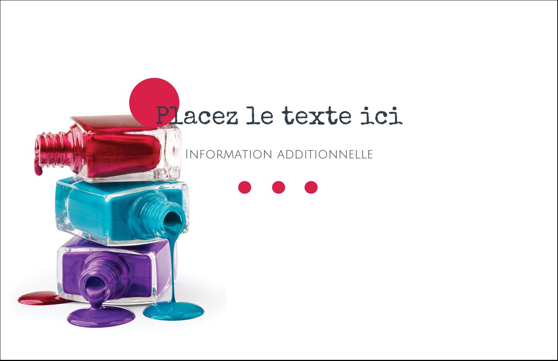 """8½"""" x 11"""" Cartes Et Articles D'Artisanat Imprimables - Flacons de vernis"""