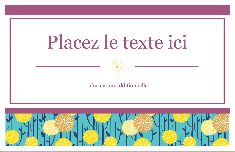 """8½"""" x 11"""" Cartes Et Articles D'Artisanat Imprimables - Impression pissenlit"""