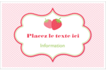 Fraise en rouge et vert Cartes Et Articles D'Artisanat Imprimables - gabarit prédéfini. <br/>Utilisez notre logiciel Avery Design & Print Online pour personnaliser facilement la conception.