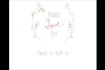 Les gabarits Paix, amour et joie pour votre prochain projet créatif des Fêtes Étiquettes rondes gaufrées - gabarit prédéfini. <br/>Utilisez notre logiciel Avery Design & Print Online pour personnaliser facilement la conception.