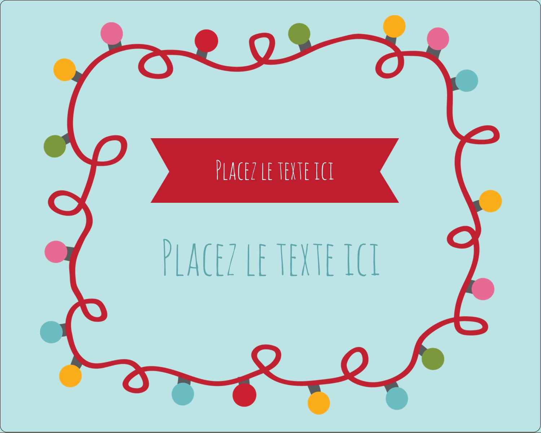 """2"""" Diameter Étiquettes rondes gaufrées - Les gabarits Lumières de Noël pour votre prochain projet des Fêtes"""