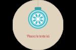 Les gabarits Boules décoratives artisanales pour votre prochain projet des Fêtes Étiquettes de classement - gabarit prédéfini. <br/>Utilisez notre logiciel Avery Design & Print Online pour personnaliser facilement la conception.