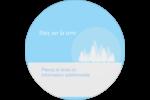 Forêt bleue Étiquettes de classement - gabarit prédéfini. <br/>Utilisez notre logiciel Avery Design & Print Online pour personnaliser facilement la conception.