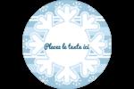 Les gabarits Flocon de neige bleu pour votre prochain projet des Fêtes Étiquettes de classement - gabarit prédéfini. <br/>Utilisez notre logiciel Avery Design & Print Online pour personnaliser facilement la conception.
