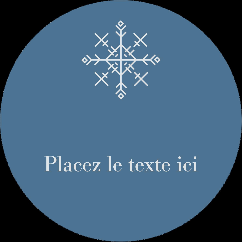 """3-7/16"""" x 15/16"""" Étiquettes de classement - Les gabarits Flocons de neige pour votre prochain projet des Fêtes"""