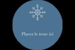 Les gabarits Flocons de neige pour votre prochain projet des Fêtes Étiquettes de classement - gabarit prédéfini. <br/>Utilisez notre logiciel Avery Design & Print Online pour personnaliser facilement la conception.