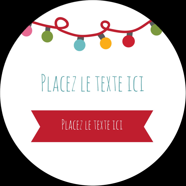 """3-7/16"""" x 15/16"""" Étiquettes de classement - Les gabarits Lumières de Noël pour votre prochain projet des Fêtes"""