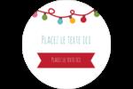 Les gabarits Lumières de Noël pour votre prochain projet des Fêtes Étiquettes de classement - gabarit prédéfini. <br/>Utilisez notre logiciel Avery Design & Print Online pour personnaliser facilement la conception.