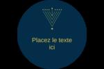 Hanoukka HanouNoël Étiquettes de classement - gabarit prédéfini. <br/>Utilisez notre logiciel Avery Design & Print Online pour personnaliser facilement la conception.