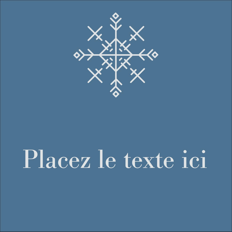 """2"""" Diameter Étiquettes rondes - Les gabarits Flocons de neige pour votre prochain projet des Fêtes"""