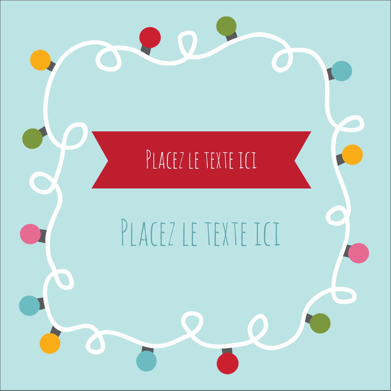 """2"""" Diameter Étiquettes rondes - Les gabarits Lumières de Noël pour votre prochain projet des Fêtes"""