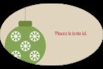 Les gabarits Boules décoratives artisanales pour votre prochain projet des Fêtes Étiquettes carrées - gabarit prédéfini. <br/>Utilisez notre logiciel Avery Design & Print Online pour personnaliser facilement la conception.