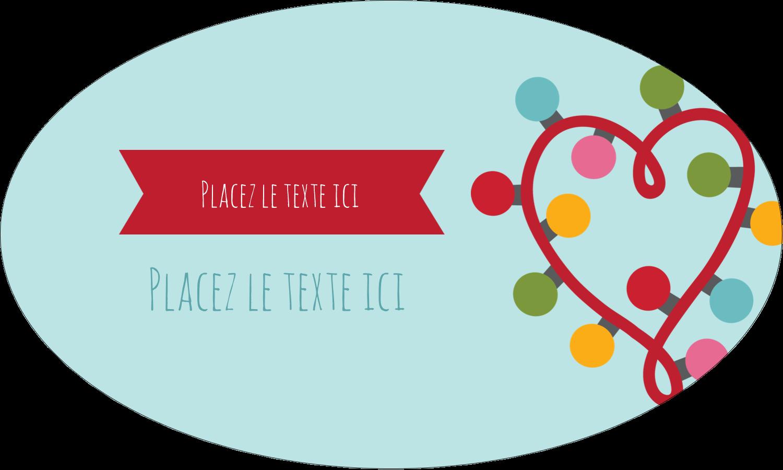 """1½"""" x 1½"""" Étiquettes carrées - Les gabarits Lumières de Noël pour votre prochain projet des Fêtes"""
