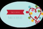 Les gabarits Lumières de Noël pour votre prochain projet des Fêtes Étiquettes carrées - gabarit prédéfini. <br/>Utilisez notre logiciel Avery Design & Print Online pour personnaliser facilement la conception.