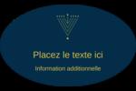 Hanoukka HanouNoël Étiquettes carrées - gabarit prédéfini. <br/>Utilisez notre logiciel Avery Design & Print Online pour personnaliser facilement la conception.