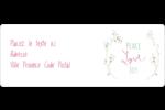 Les gabarits Paix, amour et joie pour votre prochain projet créatif des Fêtes Étiquettes D'Adresse - gabarit prédéfini. <br/>Utilisez notre logiciel Avery Design & Print Online pour personnaliser facilement la conception.