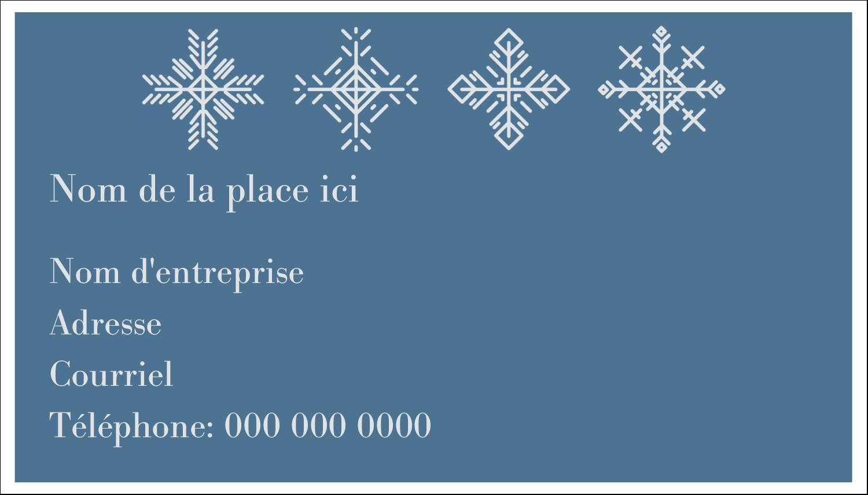 """3"""" x 5"""" Cartes Pour Le Bureau - Les gabarits Flocons de neige pour votre prochain projet des Fêtes"""