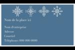 Les gabarits Flocons de neige pour votre prochain projet des Fêtes Cartes Pour Le Bureau - gabarit prédéfini. <br/>Utilisez notre logiciel Avery Design & Print Online pour personnaliser facilement la conception.