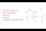 Les gabarits Paix, amour et joie pour votre prochain projet créatif des Fêtes Cartes Pour Le Bureau - gabarit prédéfini. <br/>Utilisez notre logiciel Avery Design & Print Online pour personnaliser facilement la conception.