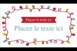 Les gabarits Lumières de Noël pour votre prochain projet des Fêtes Cartes Pour Le Bureau - gabarit prédéfini. <br/>Utilisez notre logiciel Avery Design & Print Online pour personnaliser facilement la conception.