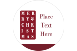 Add seasonal well wishes to custom projects with pre-designed Holiday Words templates.