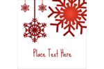 Make custom projects feel more magical with pre-designed Felt Snowflakes templates.