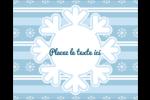 Les gabarits Flocon de neige bleu pour votre prochain projet des Fêtes Étiquettes rondes gaufrées - gabarit prédéfini. <br/>Utilisez notre logiciel Avery Design & Print Online pour personnaliser facilement la conception.