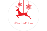 Infuse holiday charm into custom projects with pre-designed Deer Decor templates.