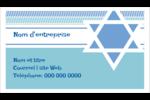Étoile de Hanoukka Cartes Pour Le Bureau - gabarit prédéfini. <br/>Utilisez notre logiciel Avery Design & Print Online pour personnaliser facilement la conception.