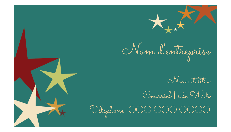 """3"""" x 5"""" Cartes Pour Le Bureau - Étoiles du Nouvel An"""
