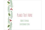 Add festive, natural beauty to custom projects with pre-designed Garland templates.