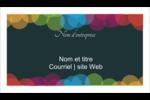 Lumières du Nouvel An  Cartes Pour Le Bureau - gabarit prédéfini. <br/>Utilisez notre logiciel Avery Design & Print Online pour personnaliser facilement la conception.