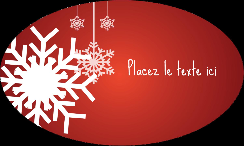 """1½"""" x 1½"""" Étiquettes carrées - Les gabarits Flocons de neige en feutre pour votre prochain projet des Fêtes"""