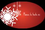 Les gabarits Flocons de neige en feutre pour votre prochain projet des Fêtes Étiquettes carrées - gabarit prédéfini. <br/>Utilisez notre logiciel Avery Design & Print Online pour personnaliser facilement la conception.