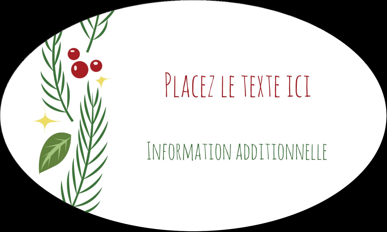 """1½"""" x 1½"""" Étiquettes carrées - Les gabarits Guirlande pour votre prochain projet des Fêtes"""