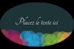 Lumières du Nouvel An  Étiquettes carrées - gabarit prédéfini. <br/>Utilisez notre logiciel Avery Design & Print Online pour personnaliser facilement la conception.
