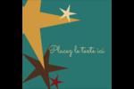 Étoiles du Nouvel An Étiquettes rondes - gabarit prédéfini. <br/>Utilisez notre logiciel Avery Design & Print Online pour personnaliser facilement la conception.