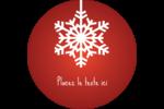 Les gabarits Flocons de neige en feutre pour votre prochain projet des Fêtes Étiquettes rondes - gabarit prédéfini. <br/>Utilisez notre logiciel Avery Design & Print Online pour personnaliser facilement la conception.