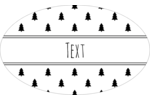 Add seasonal charm to projects with pre-designed Black White Pattern Tree templates.