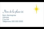 Étoile de Bethléem Cartes Pour Le Bureau - gabarit prédéfini. <br/>Utilisez notre logiciel Avery Design & Print Online pour personnaliser facilement la conception.