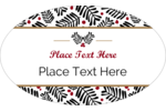 Customize personal or professional projects with pre-designed Christmas Floral templates.