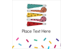 Bring whimsical fun to custom projects with pre-designed Noisemakers templates.
