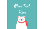 Add adorable whimsy to custom projects with pre-designed Polar Bear templates.